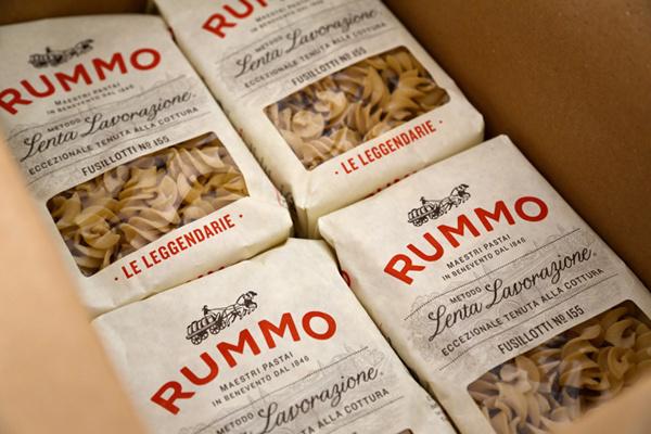 Rummo Italian pasta packaging design #packaging #pasta #fusilli #rummo