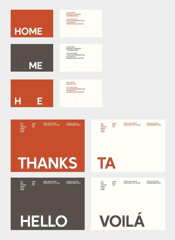 HOME Logo and Identity #design #graphic #identity