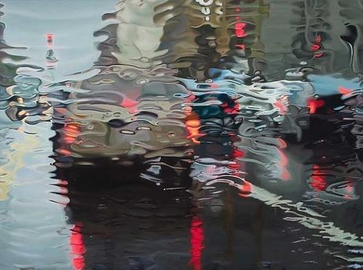 DESIGN FETISH: Wet Window Paintings #window #painting