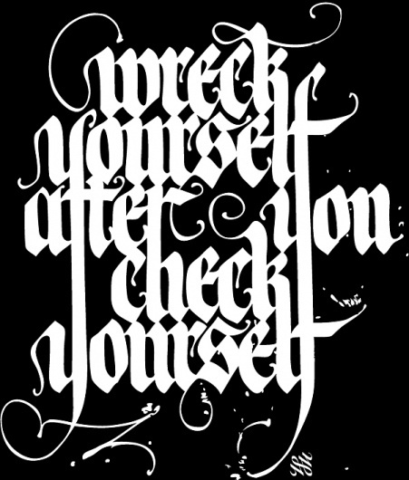 Calligraffiti #again #hoe