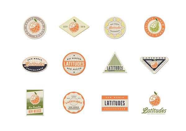 LAT icons #labels #travel #vintage