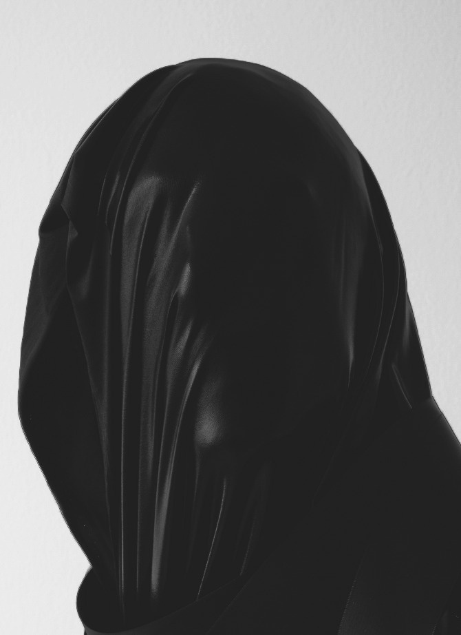 ESTOCADO : Photo #faceless #portrait #black #anonymous