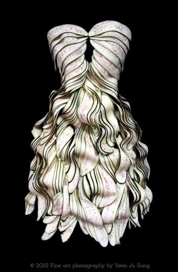 2009-2010 : Artist Yeonju Sung #sung #yeonju #eggplant #fashion #dress