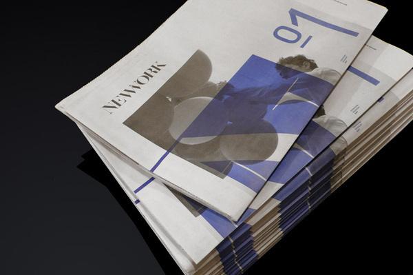 MagSpreads   Magazine Design and Editorial Inspiration: NEWWORK MAGAZINE