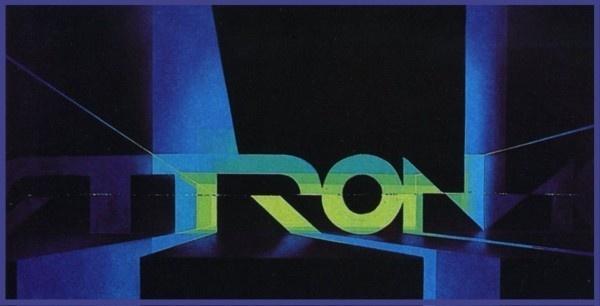Original Tron logo #tron #design #concept #art #logo