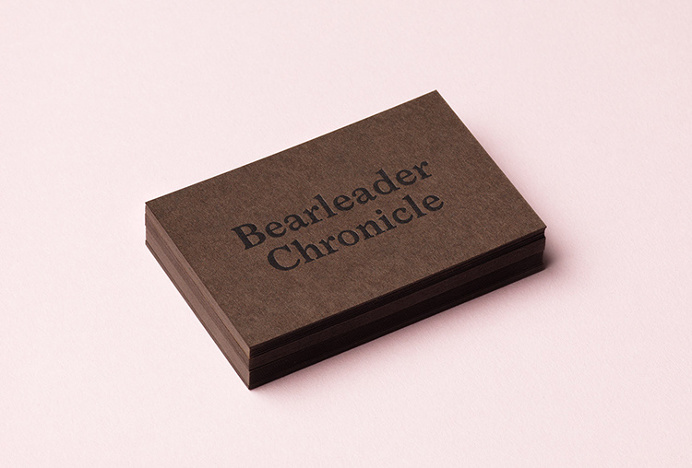 Bearleader by The Studio #graphic design #colourful #business cards #typography