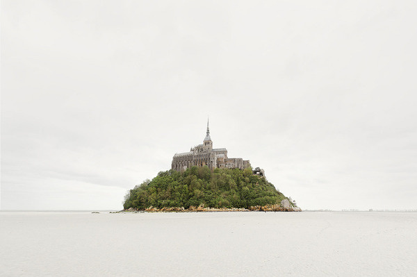 Every thing existing on the physical plane is an exteriorization of... - but does it float #michel #church #town #island #mont #photography #saint #trees