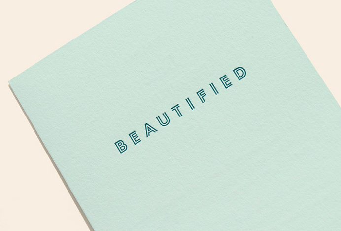 Beautified by Lotta Nieminem #brand design #stationery