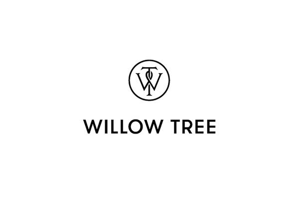 Willow Tree logo designed by Bunch Design #logo #design