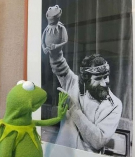 Kermit and Jim Henson - Unlikely Words - A blog of Boston, Providence, and the world #kermit #muppets #henson