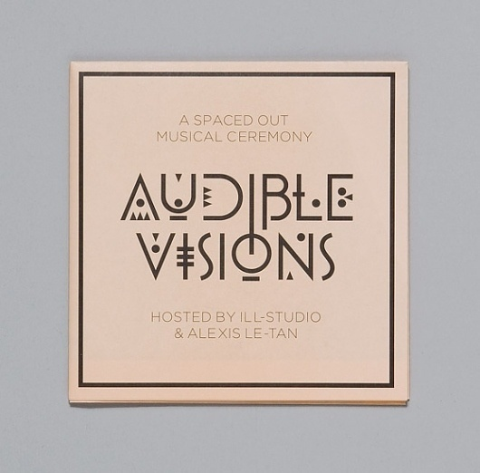 Ill Studio - Audible Visions #illstudio #design