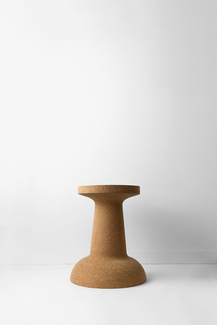 Pushpin cork by Kenyon Yeh #cork #design #furniture #stool #table #minimalist #product design