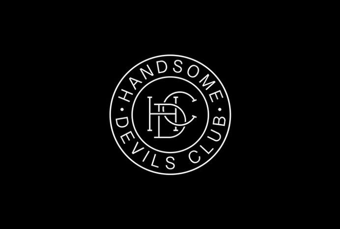 Handsome Devils Club by Taylor Evans #logo #symbol #circle #mark