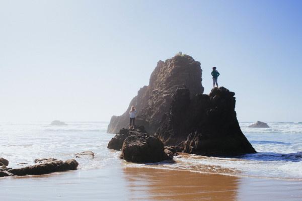 Or coast 2 #ocean #model #photo #photograph #photography #portrait #beach #vsco #oregon