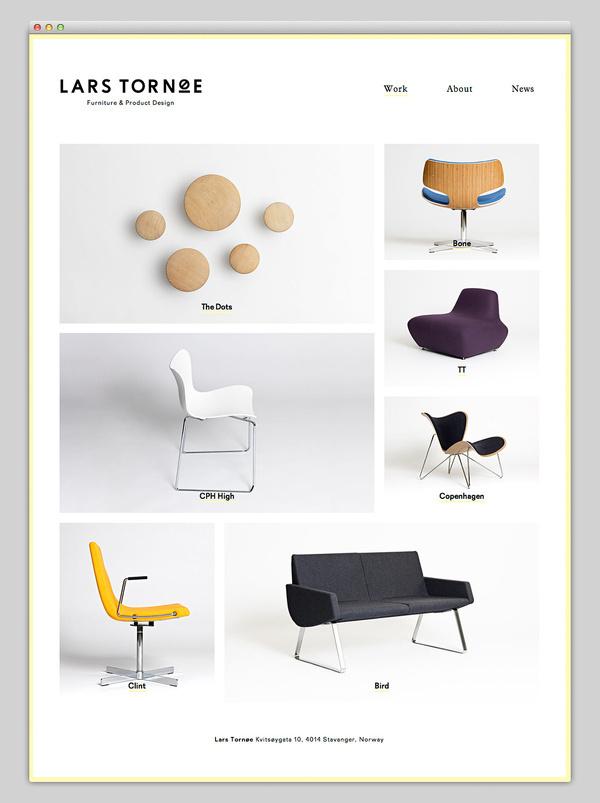 Lars Tornøe #website #layout #design #web