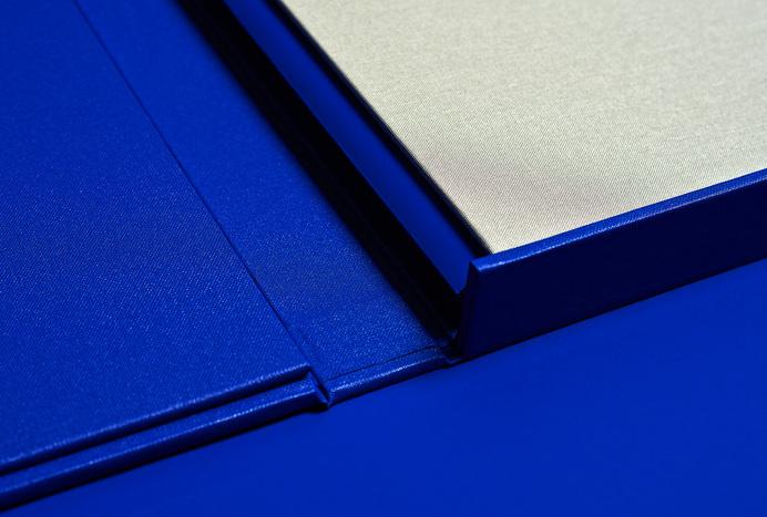 duo d uo | creative studio | John Laurie – folio #fabric #ykb #design #publication #collateral #blue #folio