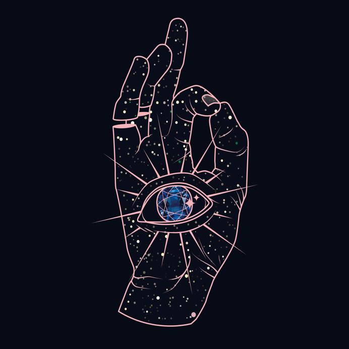Magic Hand by Maria Umiewska