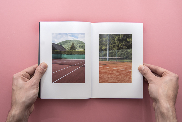 Mitteltal - Beautiful Photobook Design by Tobias Faisst #photobook #book #wood #sculptures #forest