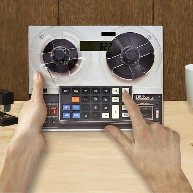 Retro Calculator #tech #flow #gadget #gift #ideas #cool