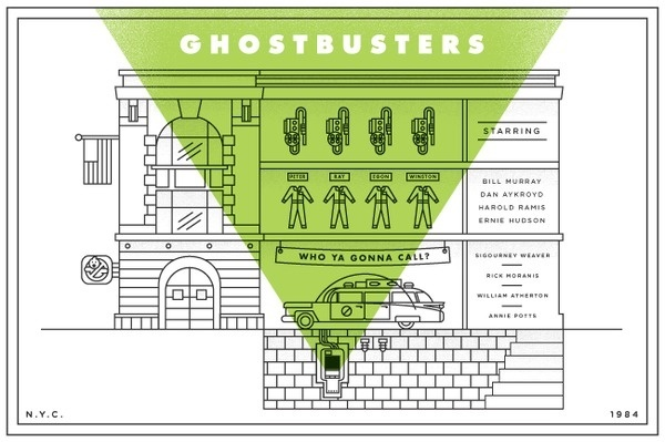Ghostbusters for Silver Screen Society #4343