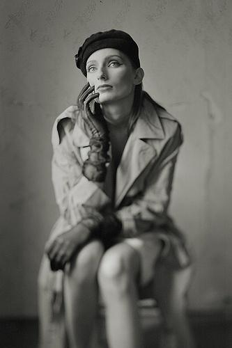 *** | Flickr: Intercambio de fotos #white #woman #black #photography #portrait #and