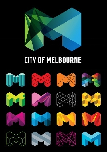 City of Melbourne on the Behance Network #branding #of #city #melbourne #logo