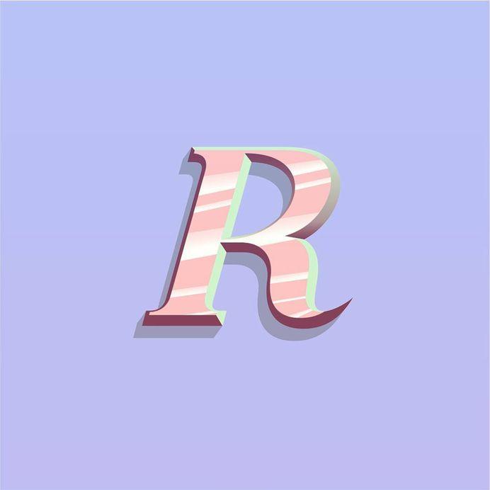 "sayon on Instagram: ""Custom font 'R'. 🤖 . . . #icon #illustration #logo #identity #artwork #instaart #artistsoninstagram #artist #graphicdesigner #graphicdesign…"""