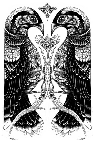 http://a1.s6img.com/cdn/box_001/post_11/221760_5418904_lz.jpg #ink #iain #tribal #birds #macarthur #drawing