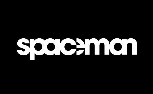 spaceman.png 1145×706 pixels #white #design #de #black #logo #and #type #typography