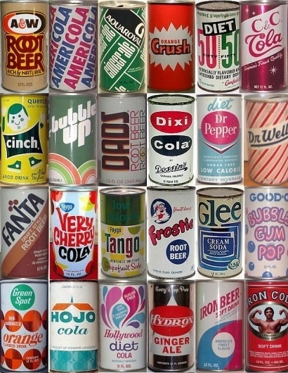 Soda poptastic resource galore | Art & Design | Lifelounge #design #retro #vintage #soda #package