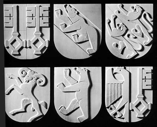 Photo #swiss #of #coats #arms #zurich #keller #ernst
