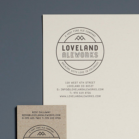 Loveland Ale Works #logo