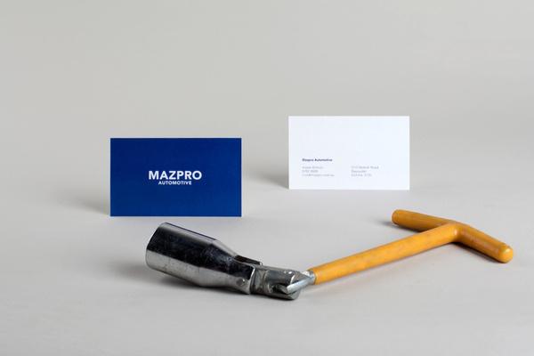 MAZPRO — David Torr #business #card #print #mechanic #garage