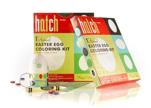 Hatch Egg Kit #egg #packaging #eggs #easter #san #dying #kit #francisco