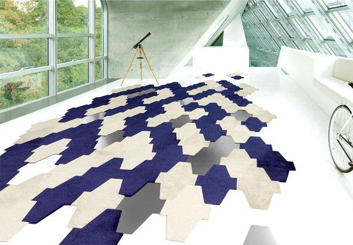 Carpet Trends 2015 Colors, Forms, Materials and Innovations hadi teherani carpetcollection #flooring #carpets #rugs #carpet design #interior