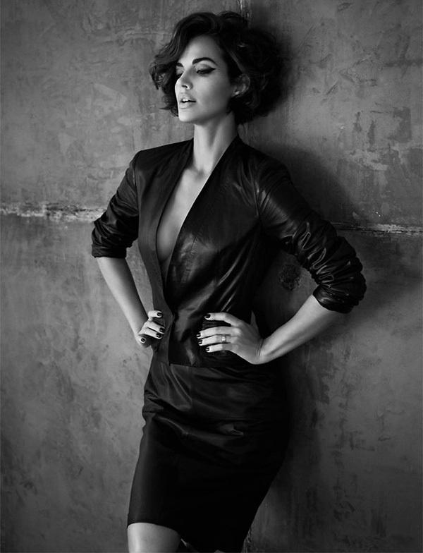 Michella Cruz GQ Russia 8 #fashion #photo #photography #blackwhite