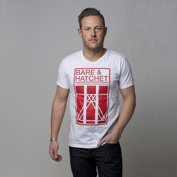 Geneva tee | Bare & Hatchet #swiss #geometry #apparel #geometric #shirt #grid #screen #fashion #helvetica #typography