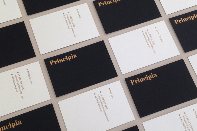 Mucho - Principia #card #print #business #foil
