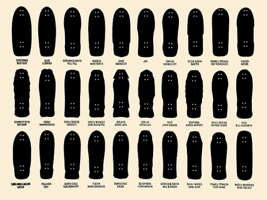 'it would be so beautiful if it weren't so terrible.' - decapitate animals #design #icons #boards #product #skateboard