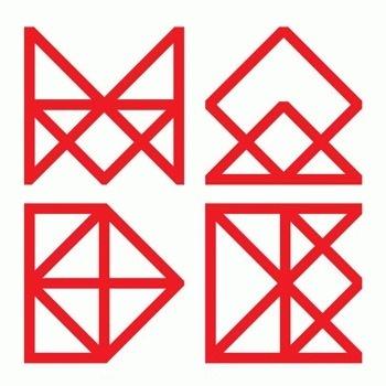 Leeds College of Art - Made #logo #logotype #geometric #lines #triangles #made