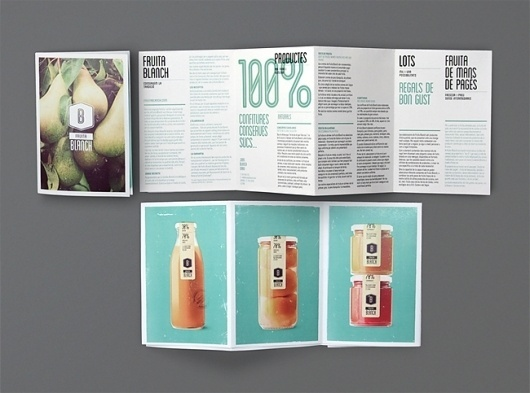 ATIPUS - Graphic Design From Barcelona, disseny gràfic, disseny web, diseño gráfico, diseño web #spain #blanch #atipus #fruit #food #catalogue #barcelona #brochure #typography