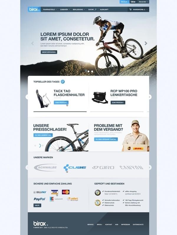 Web Design / Birox #website