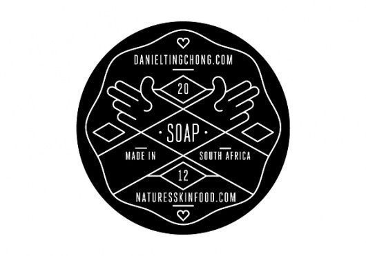 Soap Range on the Behance Network #white #black #brand #identity #and
