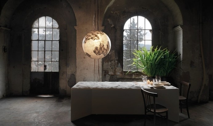 Collection of suspended lamps
