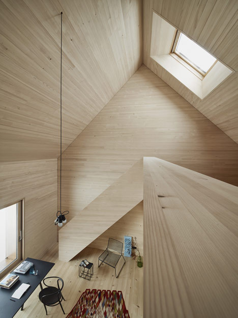Haus am Moor by Bernardo Bader Architects #wood #interior