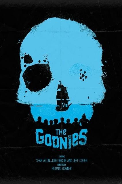 The Goonies | Flickr - Photo Sharing! #skull #goonies #poster #the