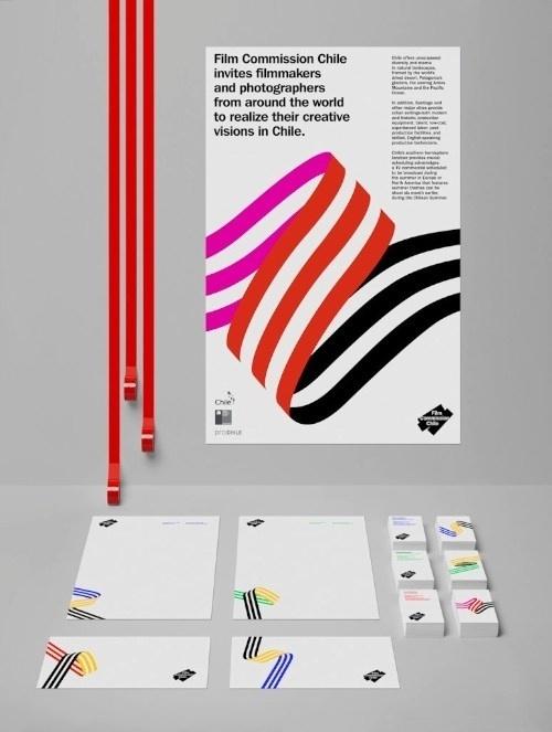 Hey Studios | Pristina.org #red #pink #stripes #black #filmmakers