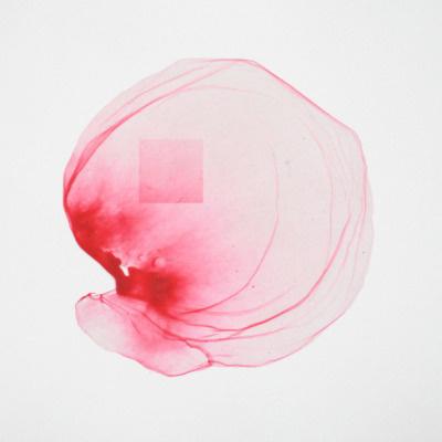 Dead Bubble 13chewing gum on paper | 25 x 25Â cm | 2010 www.trashique.nl #bubble