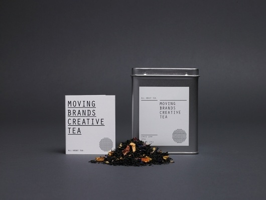 Moving Brands – All About Tea | September Industry #identity