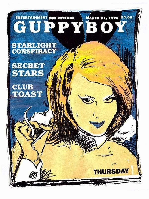 Thursday, April 17, 2014 #guppyboy #silkscreen #poster